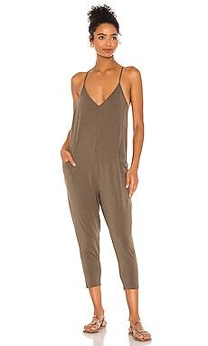 Draped Modal Jersey Jumpsuit Bobi $92