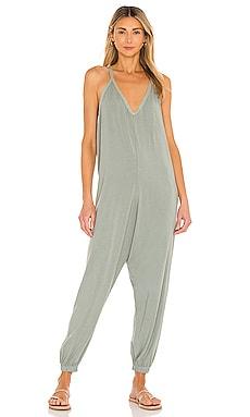 Draped Modal Jersey Jumpsuit Bobi $101