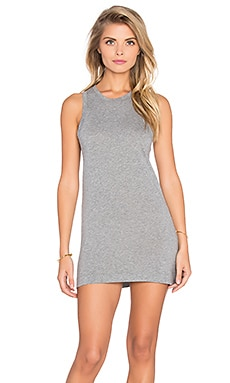 Bobi Lightweight Jersey Crew Neck Tunic in Thunder
