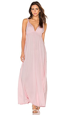 Bobi Supreme Jersey Maxi Tank Dress in Lipgloss