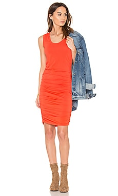 Modal Jersey Ruched Mini Dress