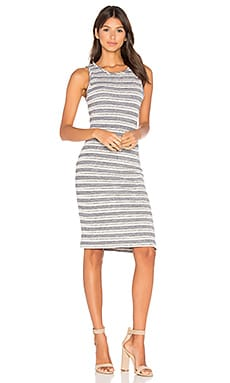 Tank Dress in Horizon Stripe