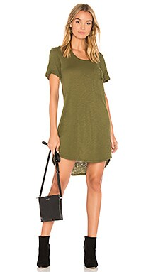 Slub Jersey T Shirt Dress