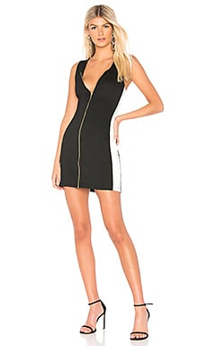 BLACK Racer Back Mini Dress