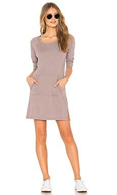 Купить Платье pocket - Bobi серо-коричневого цвета