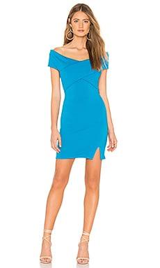 Купить Платье - Bobi синего цвета