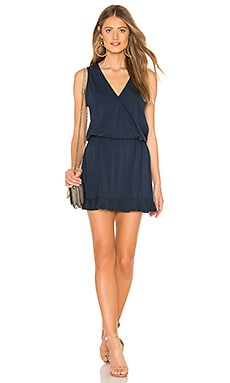 Wrap Top Mini Dress Bobi $70