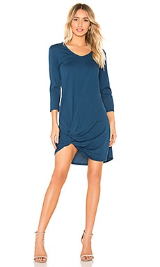 Supreme Jersey Knot Front Dress Bobi $32