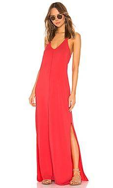 Draped Jersey Maxi Dress Bobi $92