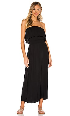 Beach Crepe Maxi Dress Bobi $97