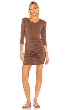 Draped Modal Jersey Dress Bobi $30