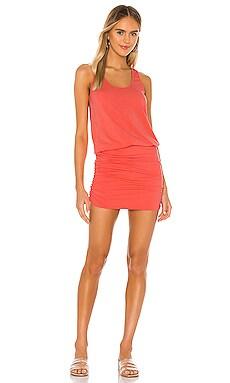 Draped Modal Jersey Tank Dress Bobi $66