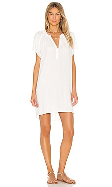 Beach Crepe Mini Dress Bobi $66