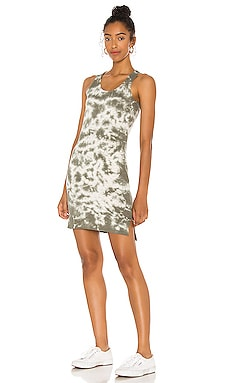 Venice Tie Dye Mini Dress Bobi $62