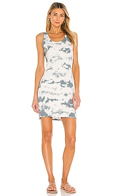 Tie Dye Rib Dress Bobi $62 NEW