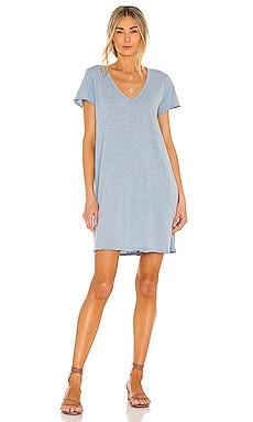 Slubbed Jersey Dress Bobi $53