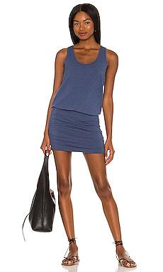 Draped Modal Jersey Mini Dress Bobi $66