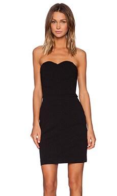 Bobi Strapless Dress in Black
