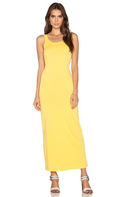Bobi Supreme Jersey Maxi Dress in Sunburst