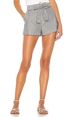 BLACK Boardwalk Stripe Short Bobi $84