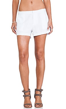 Bobi Linen Short in White