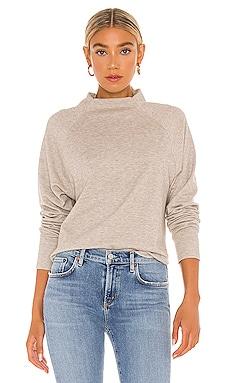 Beach Cozy Heathered Knit Sweater Bobi $57 NEW