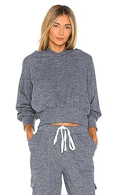 Cozy Heathered Knit Sweatshirt Bobi $53