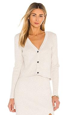 BLACK Fine Cotton Sweater Bobi $125