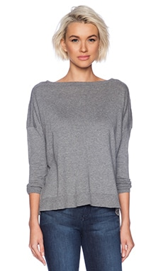 Bobi Pullover Sweater in Thunder