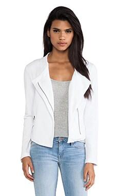 Bobi Moto Jacket in White