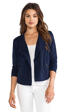 Moto Jacket in Marina