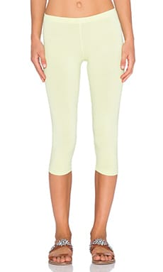 Bobi Cotton Lycra Legging in Mojito