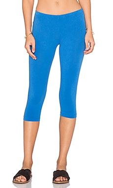 Bobi Cotton Lycra Legging in Tropez