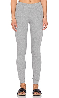 Bobi Cozy Spandex Legging in Light Grey