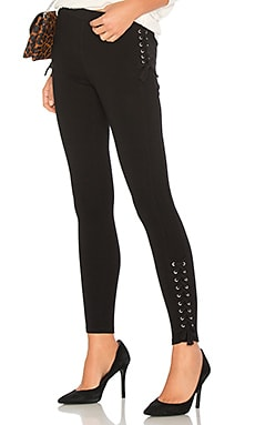 Luxe Lace Up Leggings