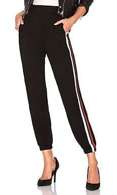 Terry Athletic Stripe Jogger Bobi $84
