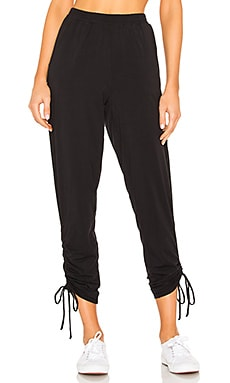 Draped Jersey Ruched Pant Bobi $54