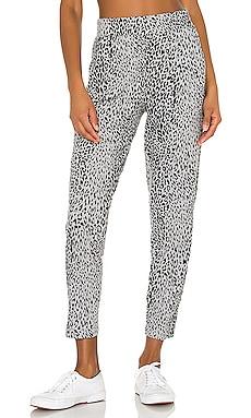 Leopard Slub Pant Bobi $62