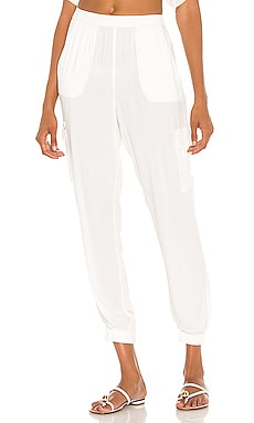 Beach Crepe Pant Bobi $84 NEW