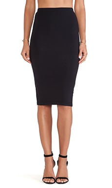 Bobi Pencil Skirt in Black