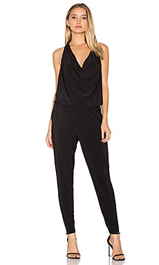 BLACK Sleeveless Jumpsuit en Noir