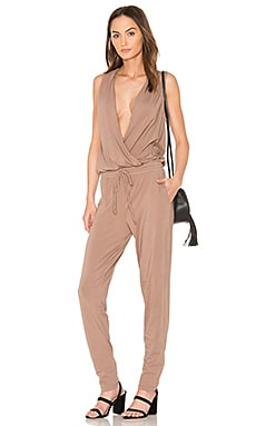 Modal Jersey Drape Front Jumpsuit en Java