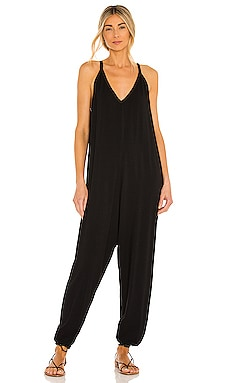 Draped Jumpsuit Bobi $101 BEST SELLER