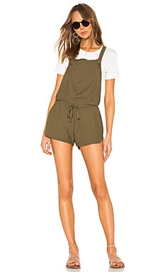 Knit Twill Romper Bobi $49 (FINAL SALE)