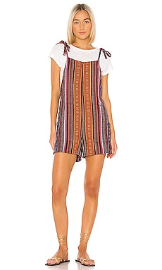 Mexicali Woven Romper Bobi $28 (FINAL SALE)