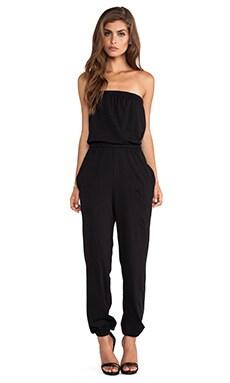 Bobi Supreme Jersey Jumpsuit in Black
