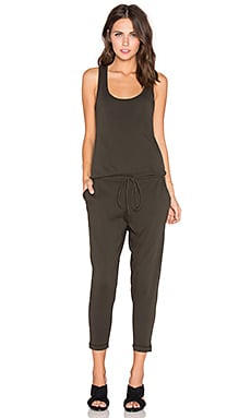 Bobi Supreme Jersey Jumpsuit in Like Army