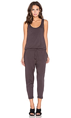 Bobi Supreme Jersey Jumpsuit in Storm Cloud