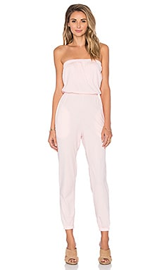 Supreme Jersey Strapless Jumpsuit in Bae