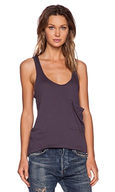 Bobi Light Weight Jersey Tank in Storm